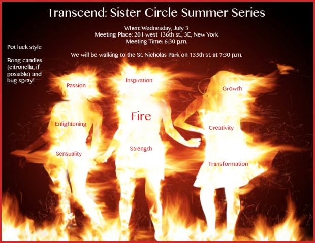 Transcend: Sister Circle Summer Series
